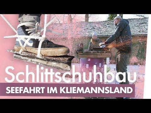 Schlittschuhe bauen – Auf Seefahrt im | Kliemannsland