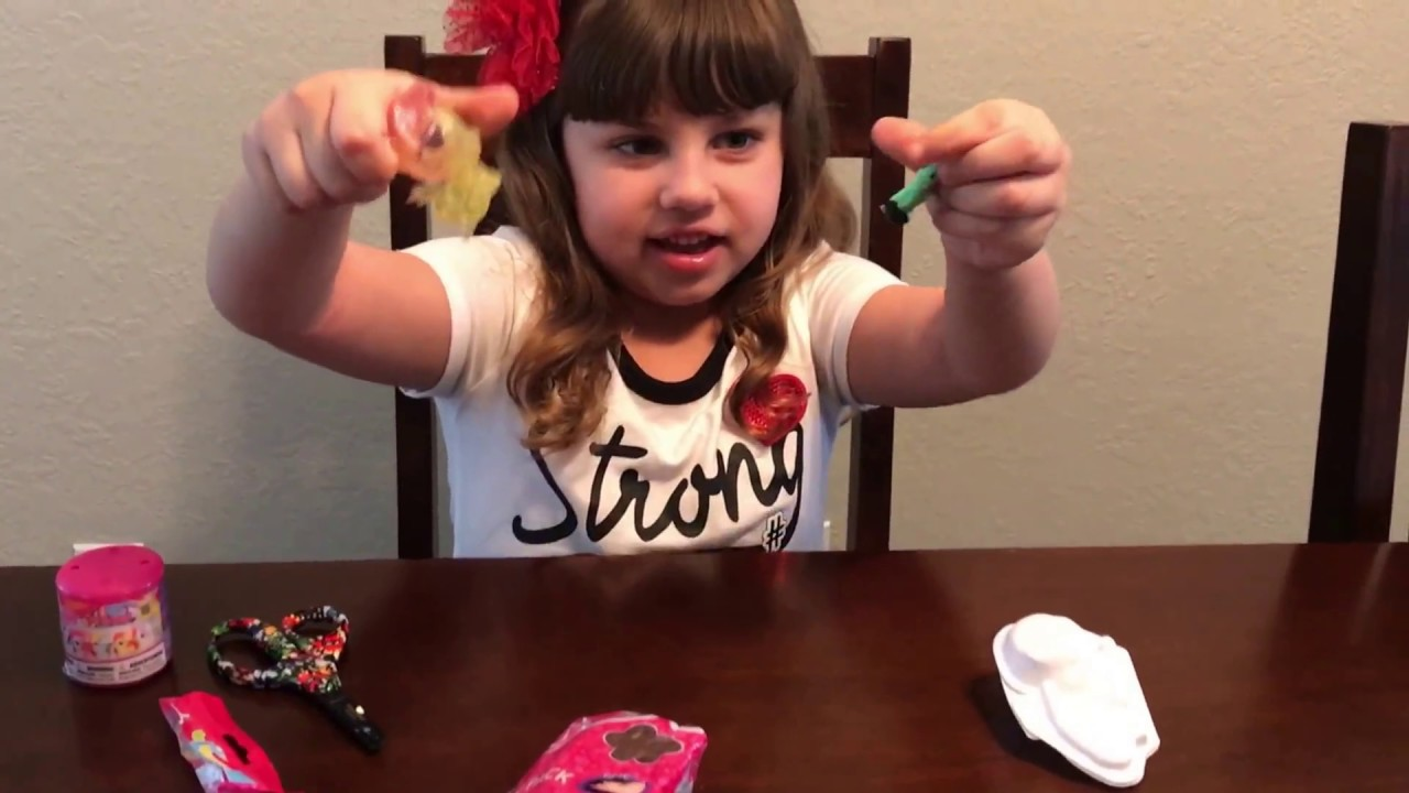 Squishy pops and fashems blind bags - YouTube