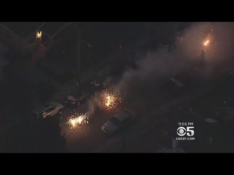 Illegal Fireworks Blast Across Oakland