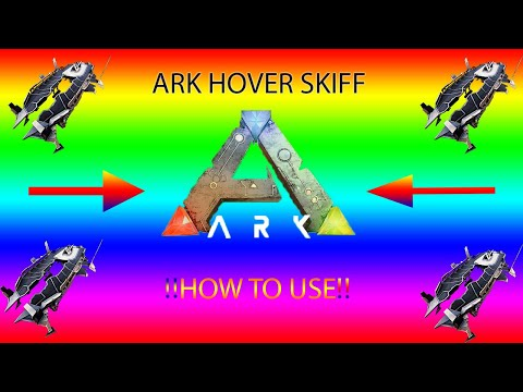 Tek Hover Skiff Guide For ARK