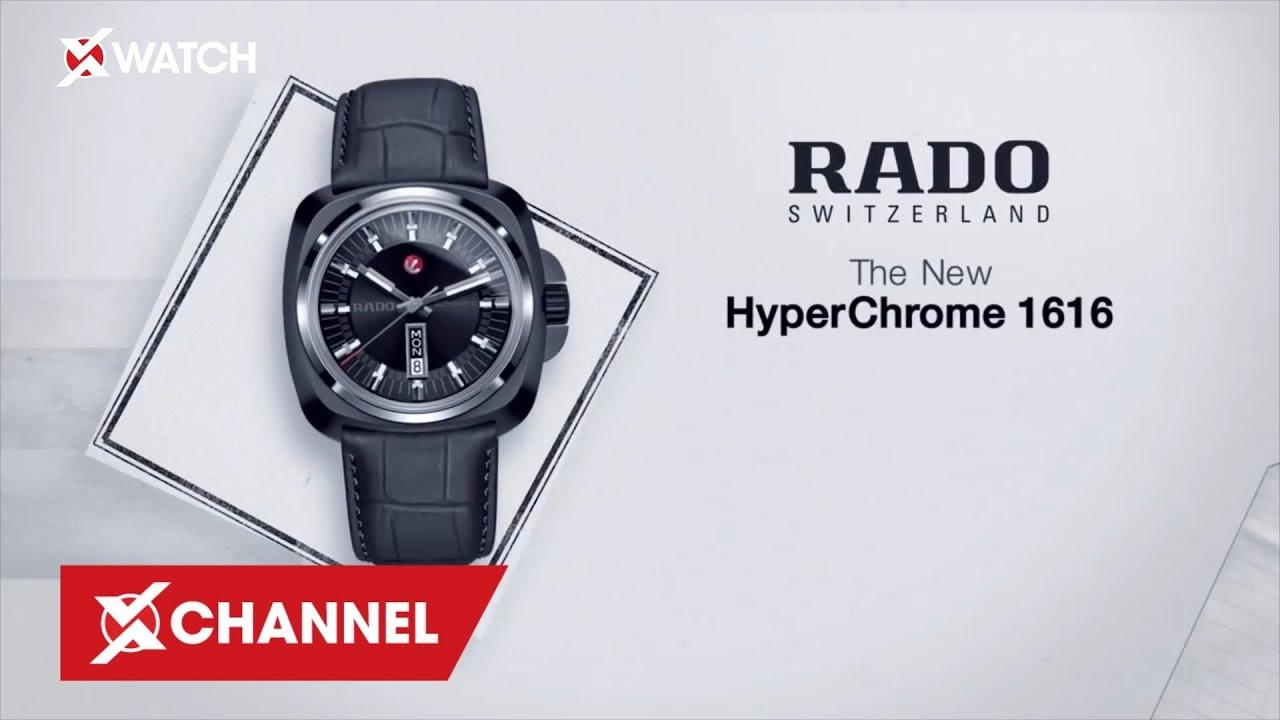 Lịch sử thương hiệu đồng hồ Rado - Mỏ neo phi thường