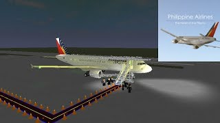 BUSINESS | Philippine Airlines - A320 | ROBLOX