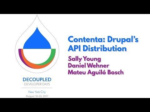 Contenta: Drupal's API Distribution