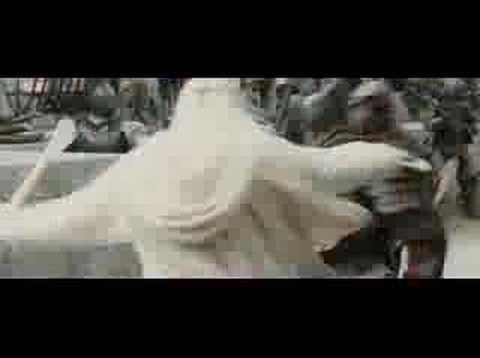 Gandalf the white enhanced part 2 - YouTube