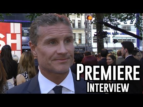 David Coulthard Interview - Rush Premiere