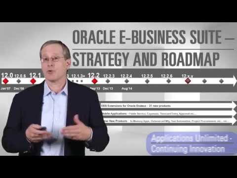 Oracle E-Business Suite: Strategy, Roadmap and User Engagement