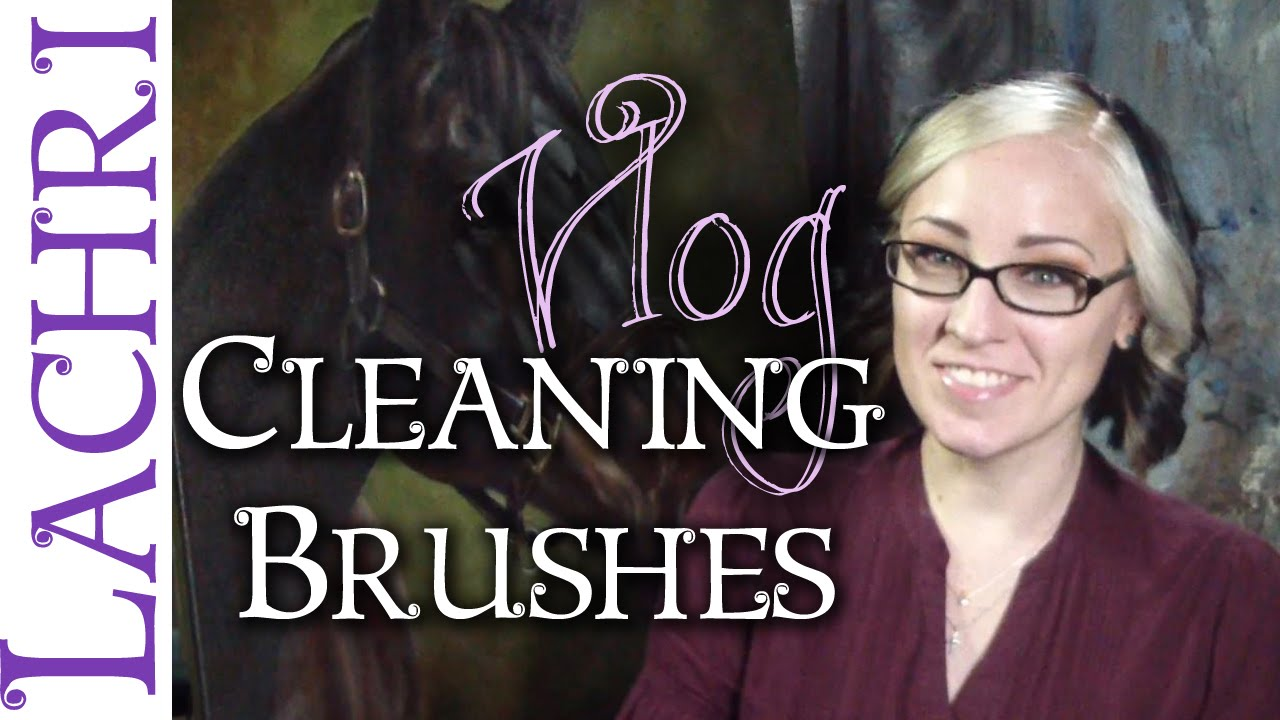 Youtube How To Clean Oil Paint From Brushes