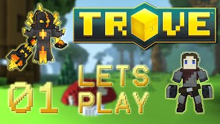 Lets Play Trove - Part 1