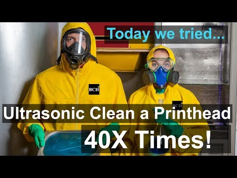 Should we use Ultrasonic Cleaner to Unclog Printheads?