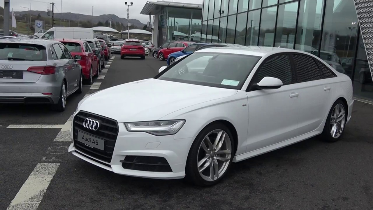 Cmg Audi Sligo New 2018 Audi A6 20tdi S Line Black Edition 190bhp