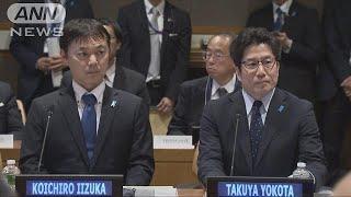 「制裁緩めるべきでない」拉致被害者家族が国連で(19/05/11)