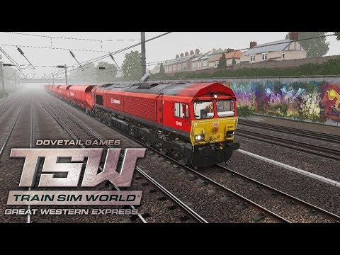 Train Sim World - Great Western Express - Aggregate Industries - Class 66