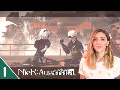 Let's Begin! | NieR: Automata Pt. 1 | Marz Plays