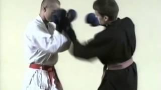 Техника спарринга рукопашного боя  Часть 10