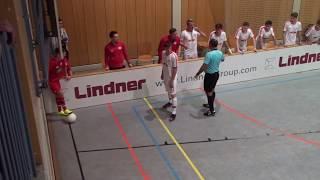 U16 Jhg2003 RB Leipzig - 1. FSV Mainz 05 3:0; HALBFINALE Norit Cup Dettelbach 01/2019