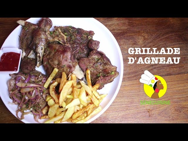 Grillade d'agneau - Grilled lamb