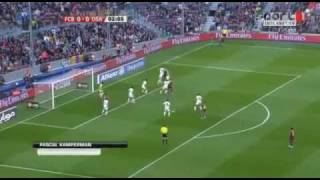 Fc barcelona vs osasuna 2-0 - full match highlights & all goals 23.04.2011