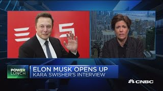 Elon Musk opens up in interview with Recode editor-at-large Kara Swisher