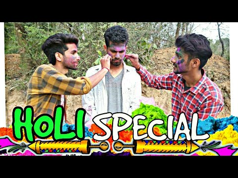 '' HOLI SPECIAL '' || HIMACHALI COMEDY || FUNNY VIDEO || KANGRA BOYS 2018