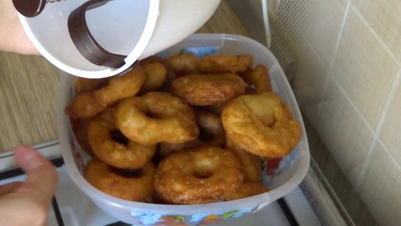 как приготовить пончики на дозаторе