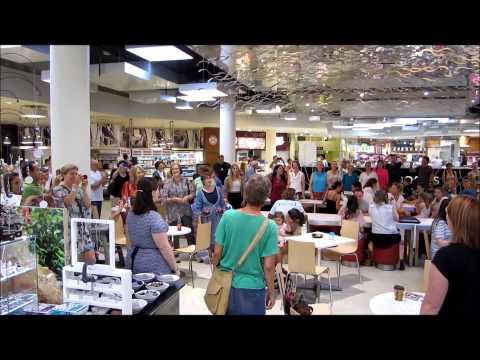 Hummingsong Community Choir Flashmob Warringah Mall
