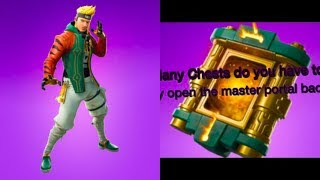 How To OPEN (MASTER PORTAL BACK BLING) Fortnite GLITCHES
