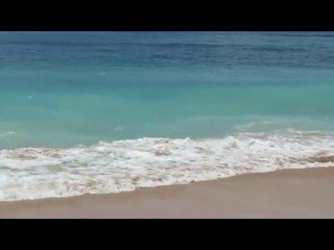 """футаж """"Волны плещутся на песчаный берег"""""""