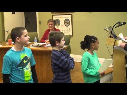 H.H. Garnett Elementary School Reading Challenge Winners