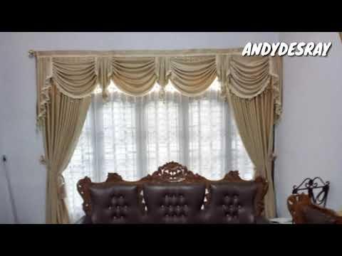 Model Gorden Pintu Kupu Tarung  luar biasaa mantap model gorden terbaru 2019 youtube