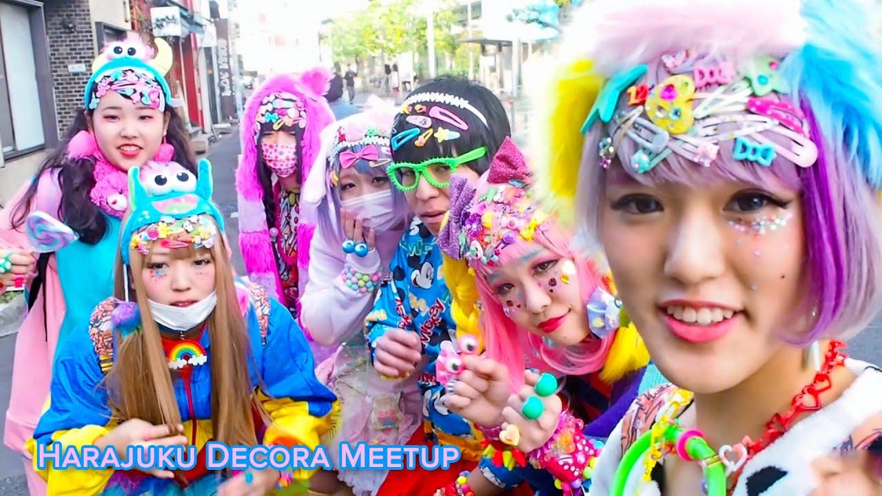Harajuku Decora Tutorial Amp Kawaii Artwork In Tokyo Youtube