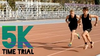 Pacing a 16 Minute 5K | Time Trial & Intervals