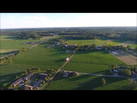 Kvevlax, Finland from air (4K video) + ActiveTrack and POI test