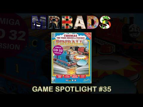 Thomas The Tank Engine Pinball | Amiga CD32 | Alternative (1995) | Collection Spotlight #35