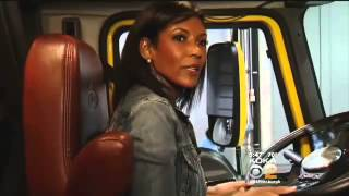 News Anchor Gets Behind The Wheel of an 18 Wheeler - KDKA-TV