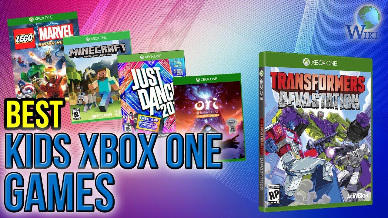 10 Best Kids Xbox One Games 2017 Youtube