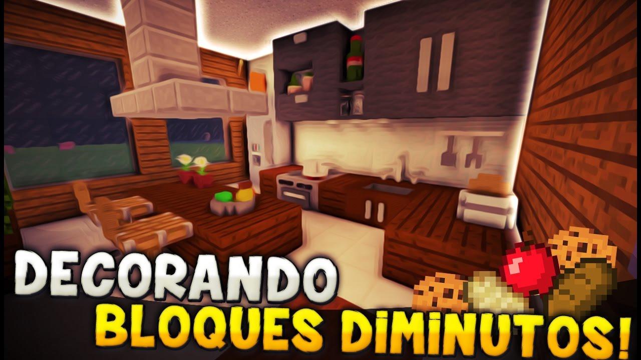 Atractivo Cocina En Minecraft Cresta - Como Decorar la Cocina ...