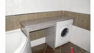 видео Пластиковые акриловые столешницы для ванной комнаты