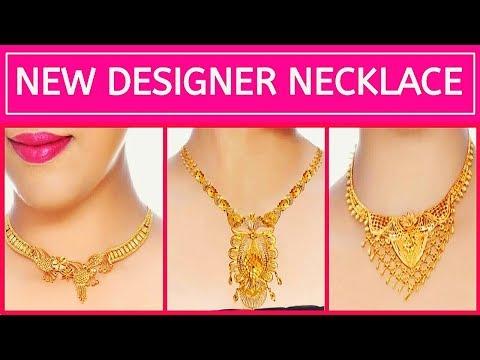 NEW DESIGNER GOLD NECKLACE | Latest Jewellery Designs