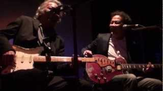 BLUESinWIJK Workshop Bluesgitaar door Guus & Johnny Laporte