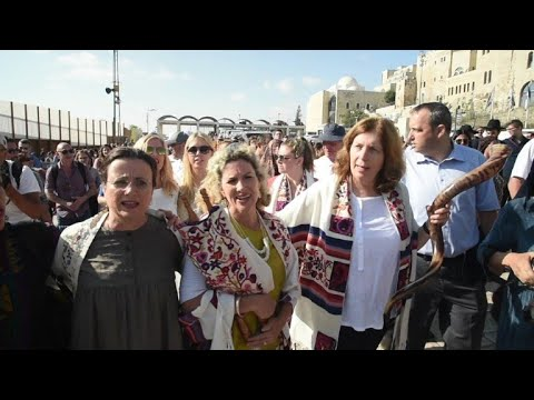 Jerusalem: protest for equal prayer rights for men and women
