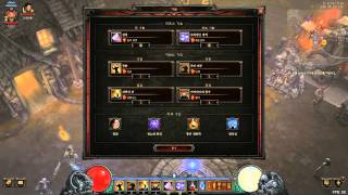 Diablo3 - Crusader : Lightning Hammer Build  #1