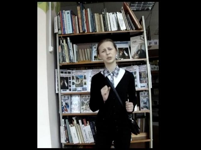 Изображение предпросмотра прочтения – ОлесяКригер читает произведение «Зимний вечер» А.С.Пушкина