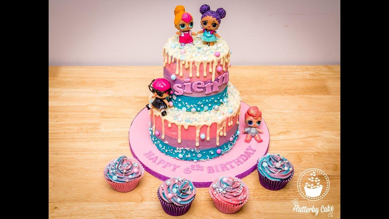 L O L Dolls Cake Youtube