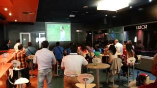 Boowling Segovia. Final de liga. Barcelona 1 - AT Madrid 1 ( Campeón) 17/5/2014 (2)