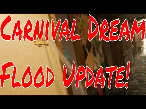 2pm et Bruce is Live!  Carnival Dream Onborad Flood Clean Up and Refund Update!