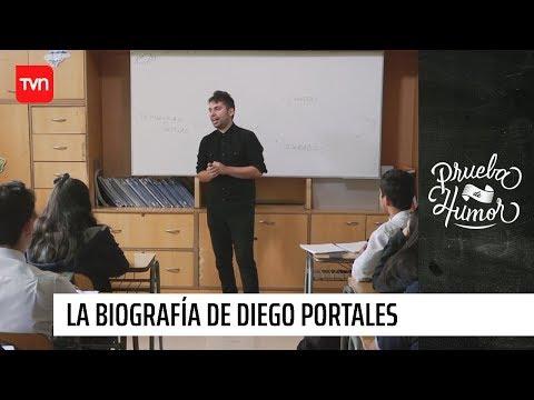 La Biografía De Diego Portales - Fabrizio Copano | Prueba De Humor
