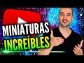 Cómo Crear MUY Buenas Miniaturas Para YouTube Sin Programas!
