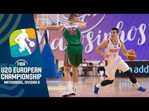Russia V Bulgaria - Full Game - FIBA U20 European Championship Division B 2019