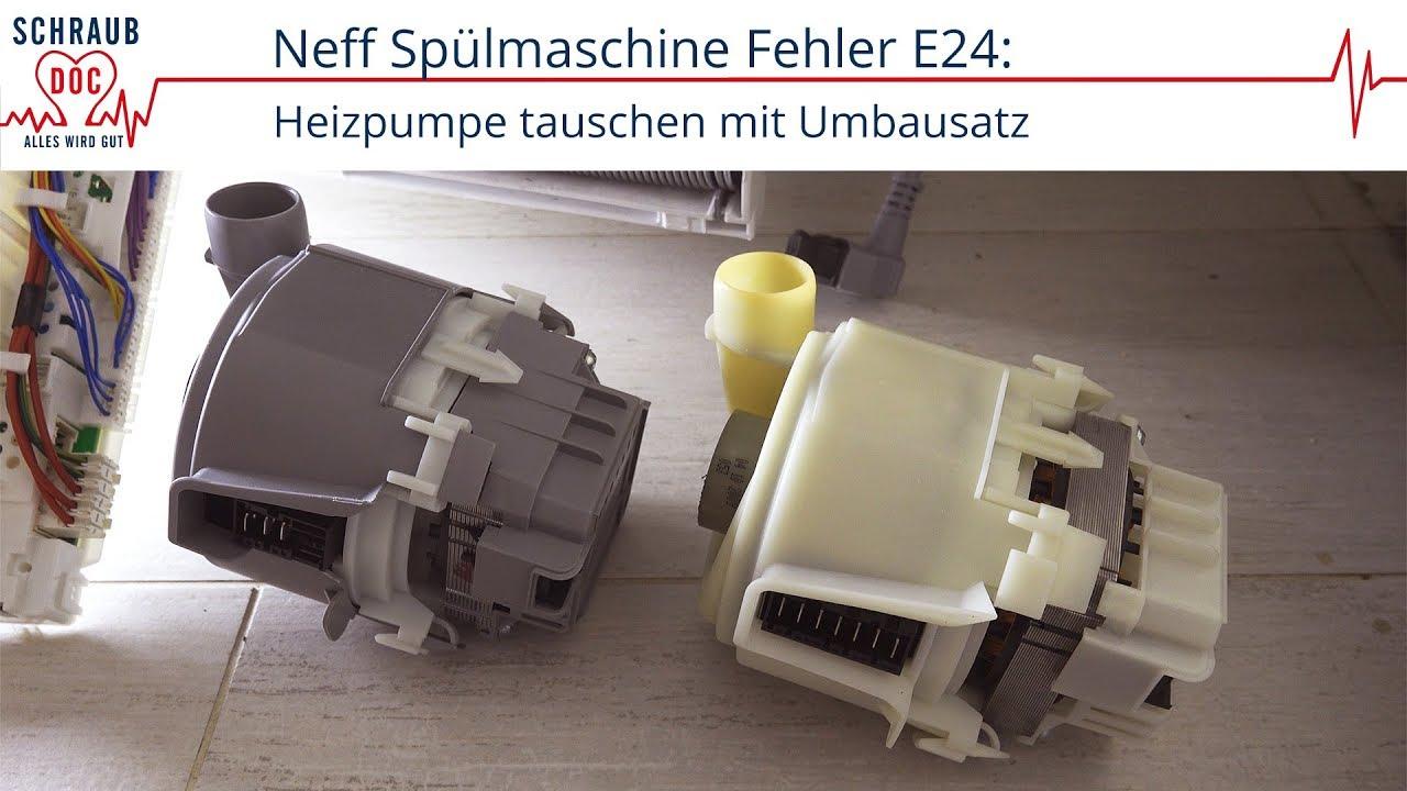 Neff spülmaschine fehler
