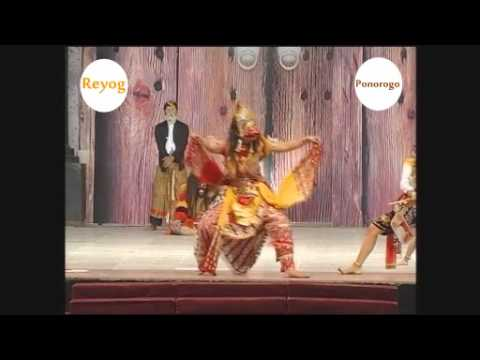 5 components of dancers in Reog Ponorogo   part 1
